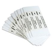 Fargo 82133 Alcohol Cleaning Cards - Qty. 10