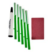Nisca CleaningKit5152 Complete Cleaning Kit - Brushes, Pen & Cards