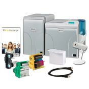 IDP Wise-CXD80 ID Card System Dual-Sided with Lamination