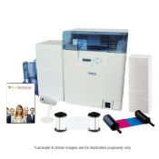 Nisca PR-C201-Lam ID Card System - Dual-Sided with Lamination