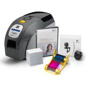 Zebra Z32-0M00E200US00 ZXP Series 3 QuikCard ID Solution Dual-Sided with Magnetic Encoding