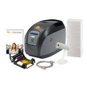 Zebra Z11-00000000US00 ZXP Series 1 Photo ID System Single-Sided